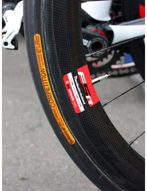 Quick Step's FFWD wheel sponsors are likely proud to see the Giro start in Amsterdam, as the wheels are built not far from there