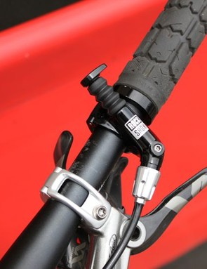 The Reverb Remote is the same mechanism RockShox use for their X-Loc lockout on XX suspension forks
