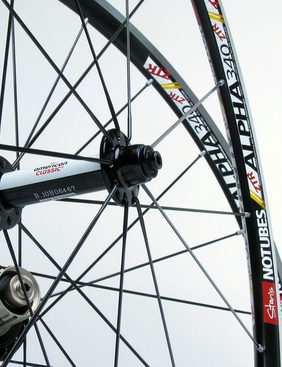 Stan's NoTubes will offer complete ZTR Alpha 340 wheelsets in three versions, including the top-end Pro edition with a custom high/low flange American Classic rear hub and 2:1 spoke lacing