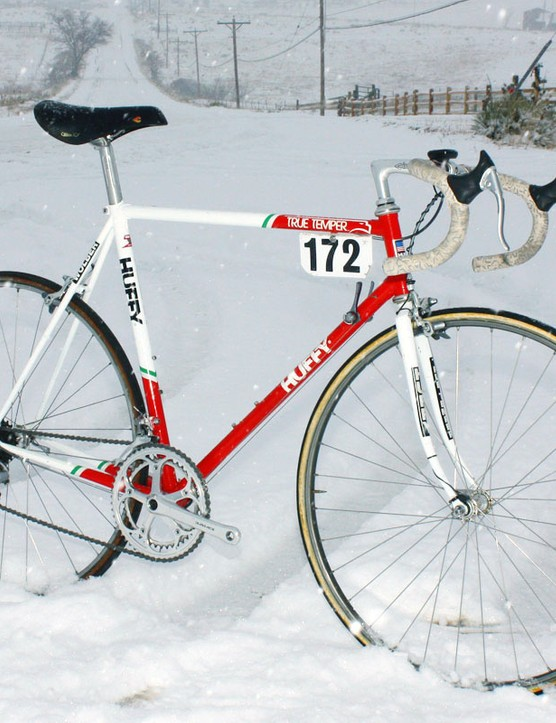 Andy Hampsten (7-Eleven) conquered the Gavia and the Giro d'Italia on this machine in 1988