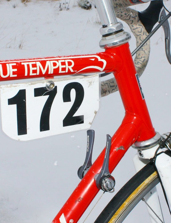 Note to the keen-eyed: that race number is laminated, not printed