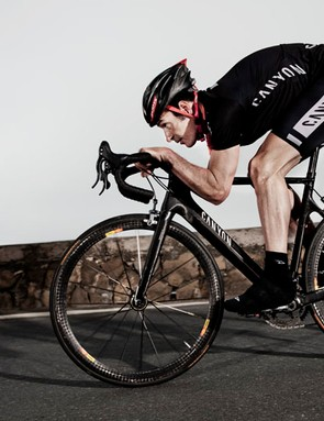 German cycling legend Erik Zabel provided Canyon with valuable test input during the Aeroad CF's development.