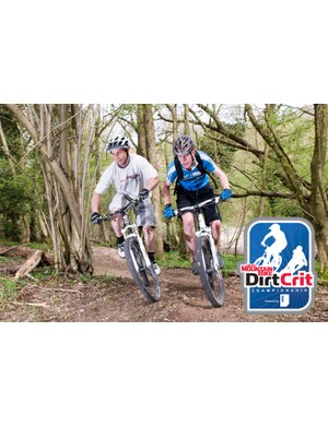 There are loads of passing opportunities on the Dirt Crit course