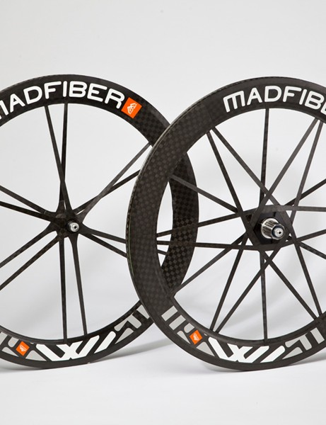 Mad Fiber's first product is this road wheelset
