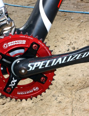 Specialized's S-Works MTB cranks are among the lightest available