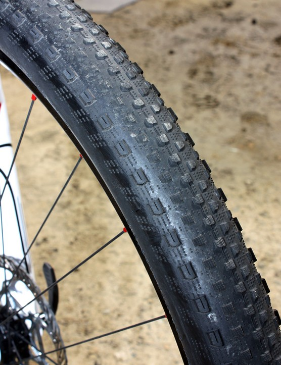 Specialized's new Renegade tyre looks to be especially fast on hardpack