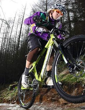 The Ghost's super stiff frame can feel harsh at times on rocky terrain