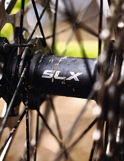 Shimano SLX hubs are better than the no-name offerings we often see at this price