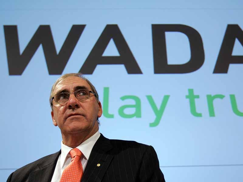 John Fahey, the president of the World Anti Doping Agency (WADA)