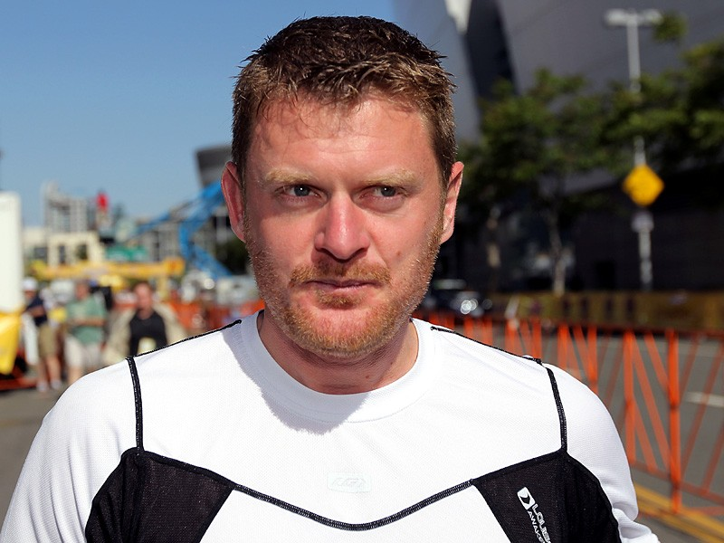 Floyd Landis at the Tour of California