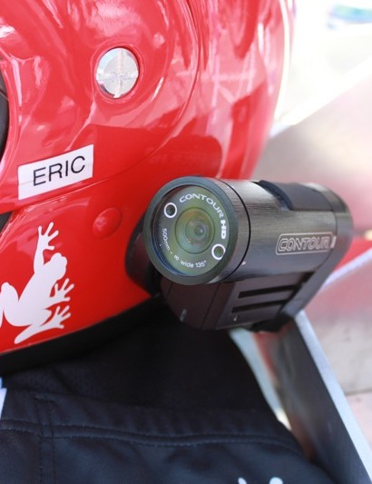 Jumper Eric Brandt captures video of changes and racing on VholdR's Contour HD helmet cam