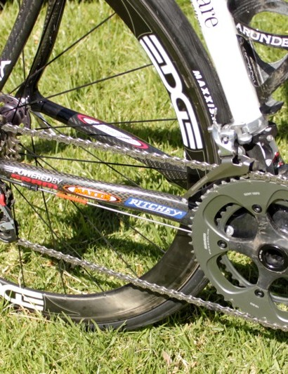 SRAM's Red drivetrain is well-proven and still the lightest complete component package on the market.