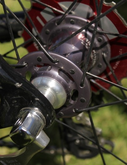 Chris King's K45 hubset is 20-percent lighter than its Classic version.