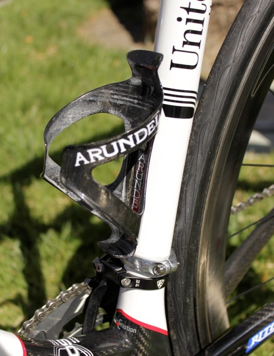 Arundel's Dave-O cages weigh just 20g, but hold bottles tight.