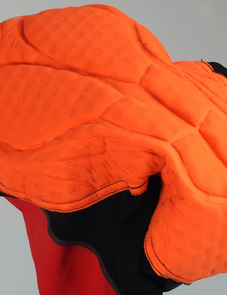 The multi-thickness, stretch seamless chamois is well shaped and placed for excellent comfort even on long road rides