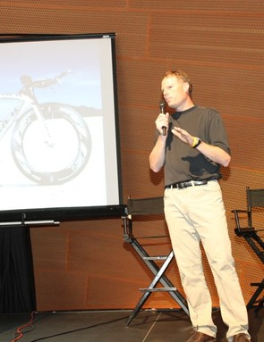 It's not every day that Trek president John Burke attends a product launch. Trek are very excited about the Speed Concept