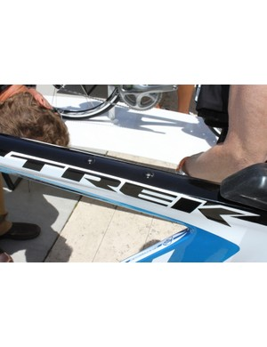 All of the Speed Concept models feature built in mounts for the SpeedBox on their top tubes