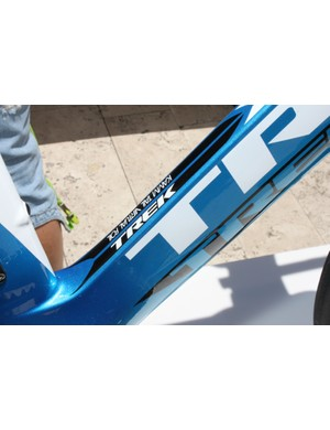 The Kammtail is an airfoil with a truncated tail, as seen here on the Speed Concept's down tube