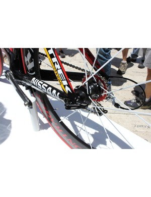 The Speed Concept design is about details. Trek made a special skewer that perfectly matches the lines of the dropout