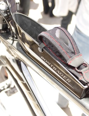 Trek's SpeedBox top tube organiser