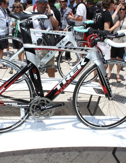 Trek carry the Kammtail design down to the Alpha Aluminium 2 Series Speed Concept