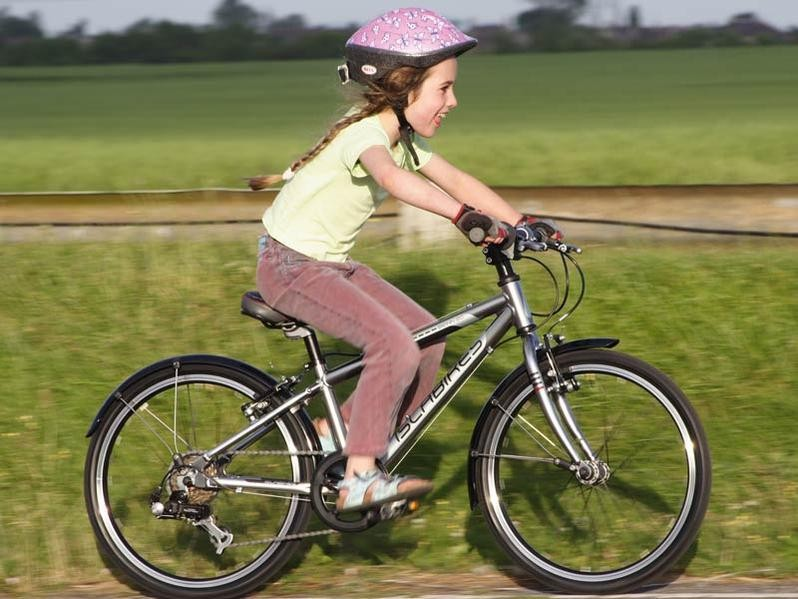 The numbers of children cycling to school in Scotland has declined, according to a Sustrans survey