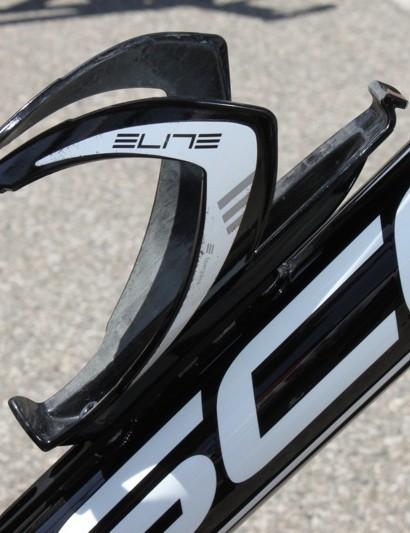 Elite's Custom Race bottle cage.
