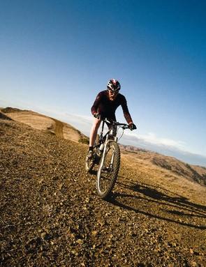 Gary's passion for mountain biking hasn't dwindled