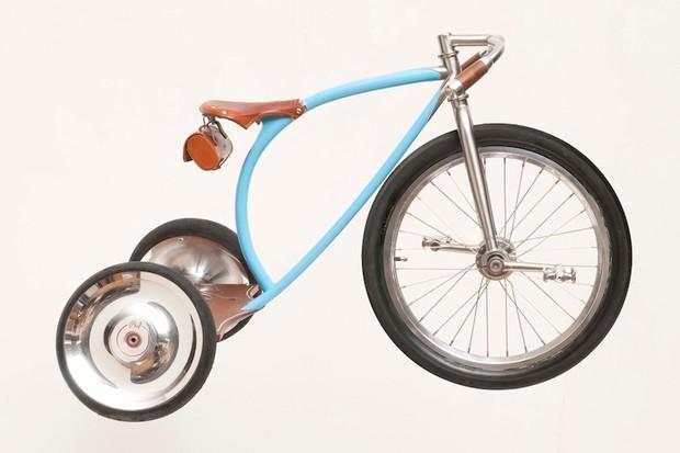 Sacha White's Vanilla tricycle.