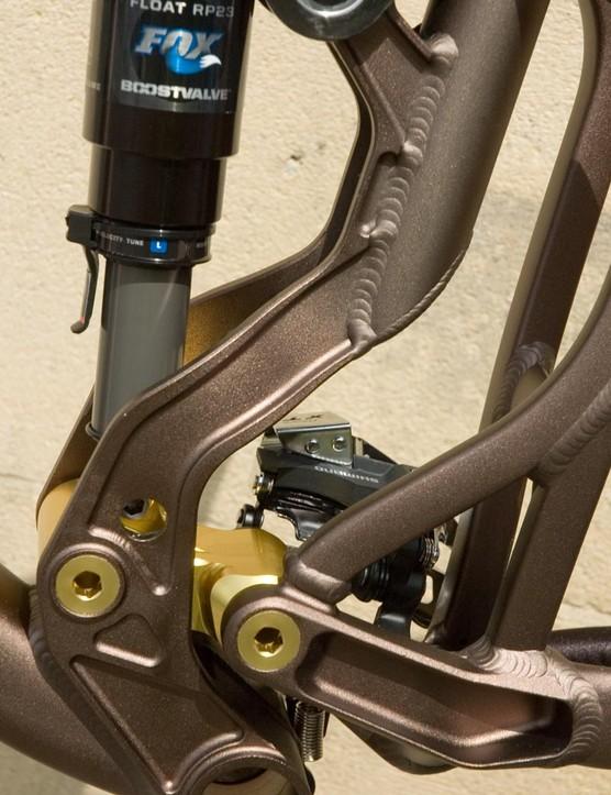 Firebird rear linkage detail