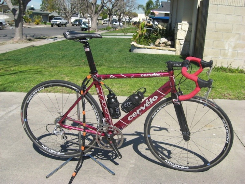 The S1 strain gauge bike produced data that radically changed Cervélo's lab stiffness testing protocols.