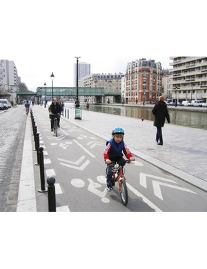 There could soon be many more routes like Paris's Canal St Martin bike lane