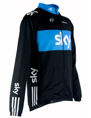 Team Sky long-sleeved jersey