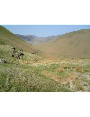 The undulating hills of the Keswick sportive