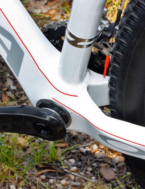 Orbea have given their revised Alma 29 an oversized BB30 bottom bracket