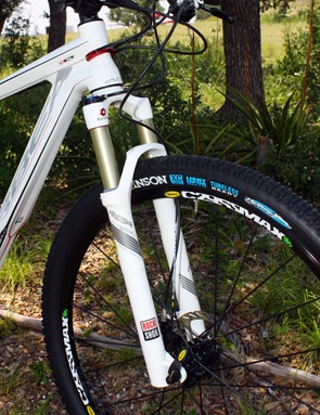 Fork travel has increased to 100mm on the new Alma 29, compared to 80mm on the original one