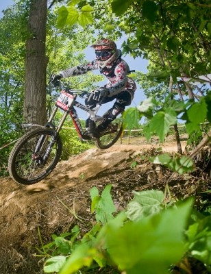 Trek World Racing dominated the 2010 US Open downhill