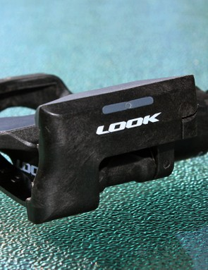 Look builds the entire pedal body and rear plate out of long-fiber carbon composite
