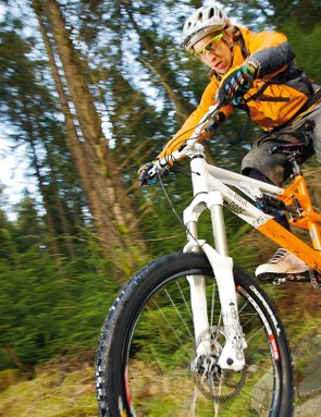 The Beefcake is a value packed freeride or downhill rig