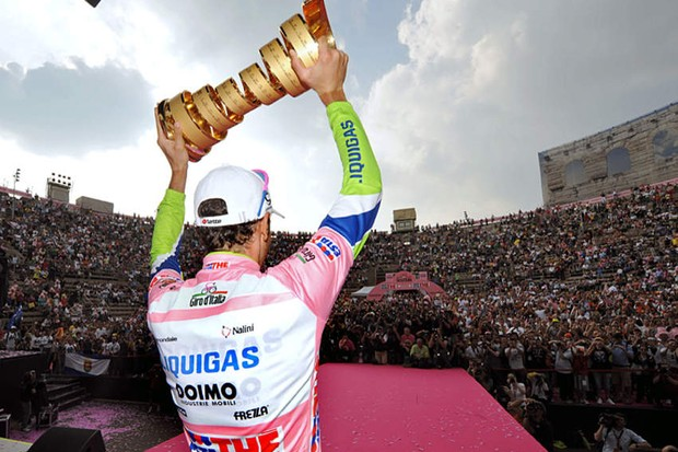 Giro champion Ivan Basso is setting his sights on the Tour de France