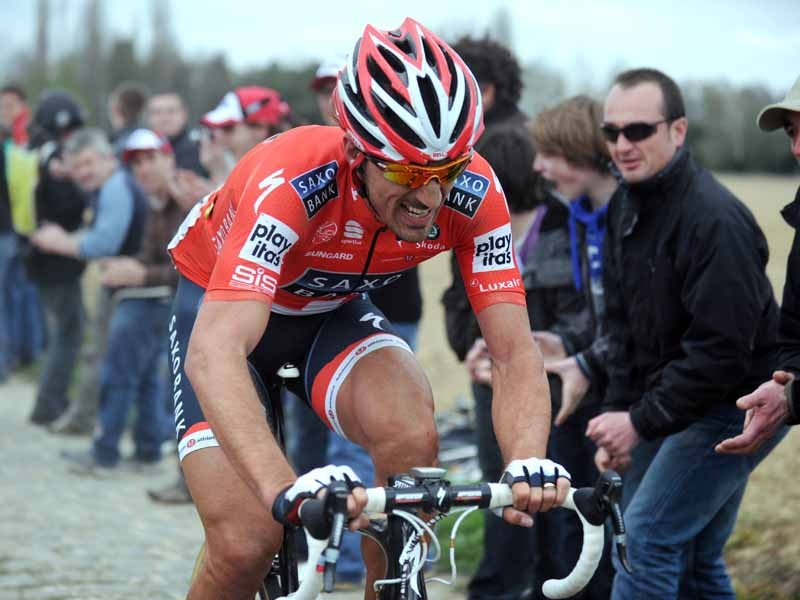 Fabian Cancellara says that his wins are the result of hard work, not a motor