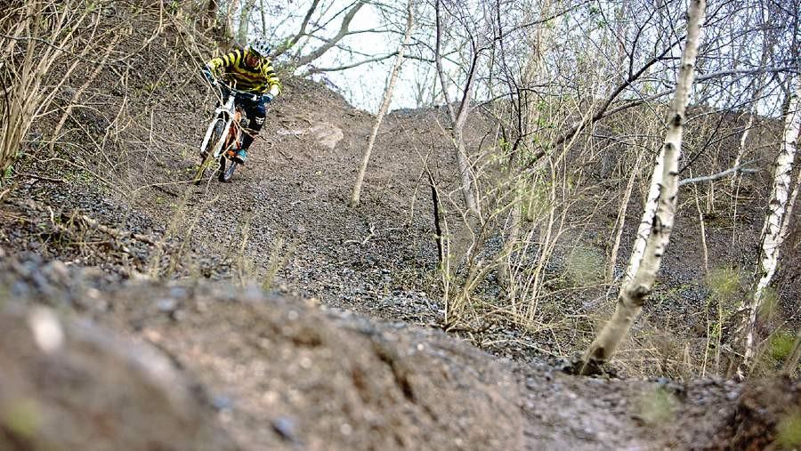 Ride big terrain
