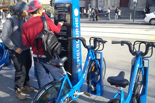 Melbourne has launched its public bike hire scheme