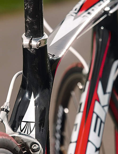 The multi-shaped TCT frame is impressively smooth but it's the heaviest on test