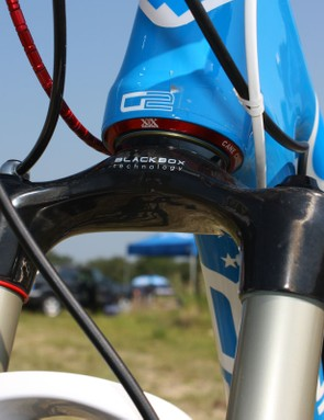 The RockShox Reba 29 XX World Cup includes a tapered 1 1/8