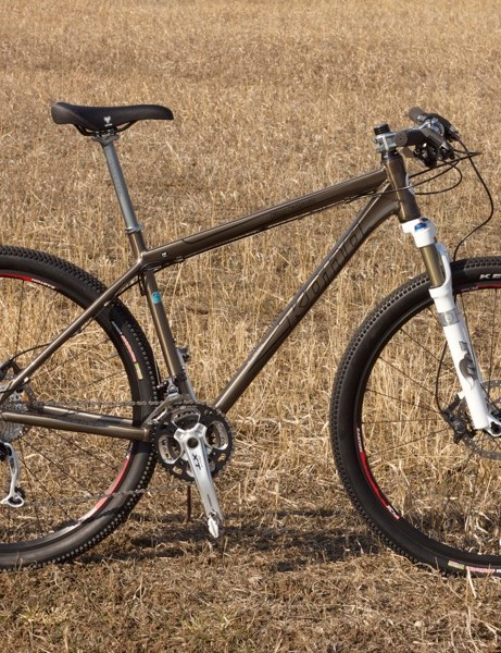 Shimano outfit the King Kahuna with their XT drivetrain and SLX brakes