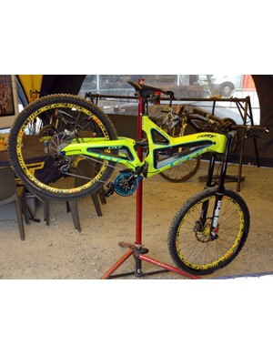 Team GT were the first to field a carbon downhill bike, in the shape of the Fury, piloted to World Cup glory by Mick Hannah