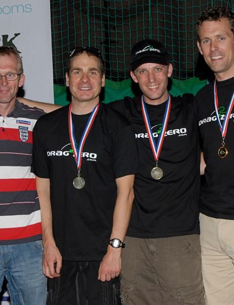 Mens team winners Drag2Zero.com