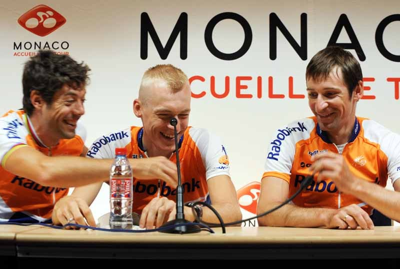Oscar Freire, Robert Gesink and Denis Menchov will be part of Rabobank's Tour de France team this year