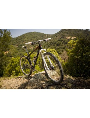 The new carbon Scale frame is available in 29er form, though it weighs 949g